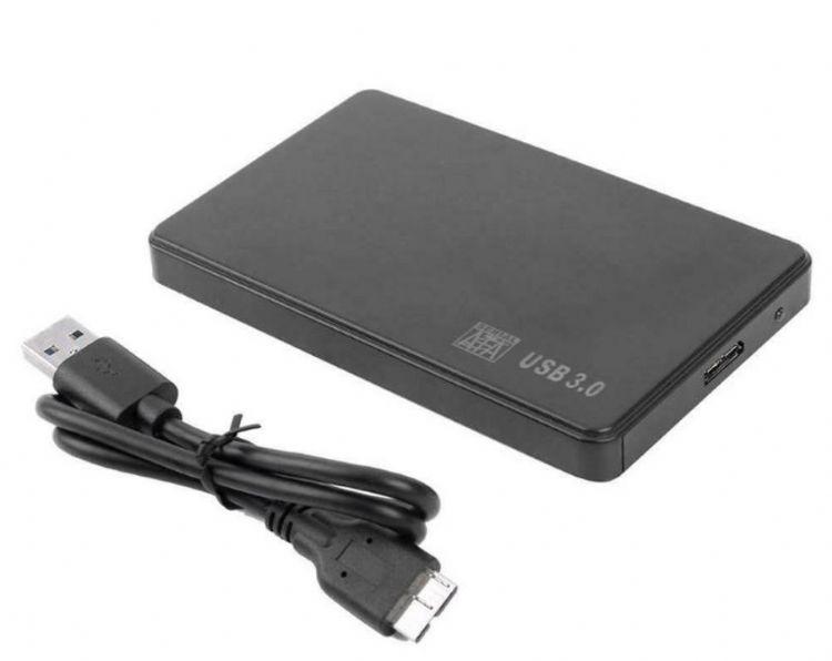 2.5 inç Laptop HDD Kutusu Hard disk Kutusu Sata USB 3.0 Metal