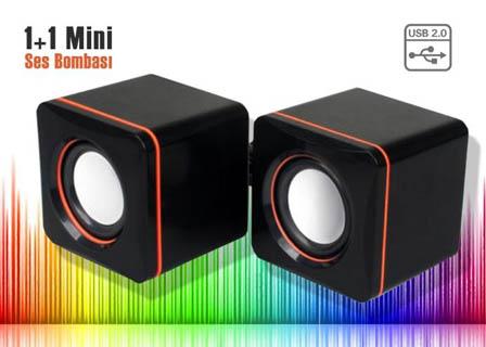 USB 2.0 Hoparlör 1 1 Mini G-SYSTEM Multimedia Speaker System