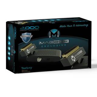 Magbox Exclusive Mini Scart SD Li Uydu Alıcısı