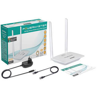 Powermaster PWR-07 300 Mbps Wireless Router Access Point Repeater