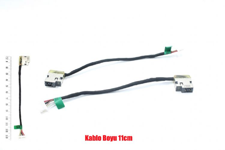 HP 14-am007nt (X8P53EA) dc soket power jack kablolu