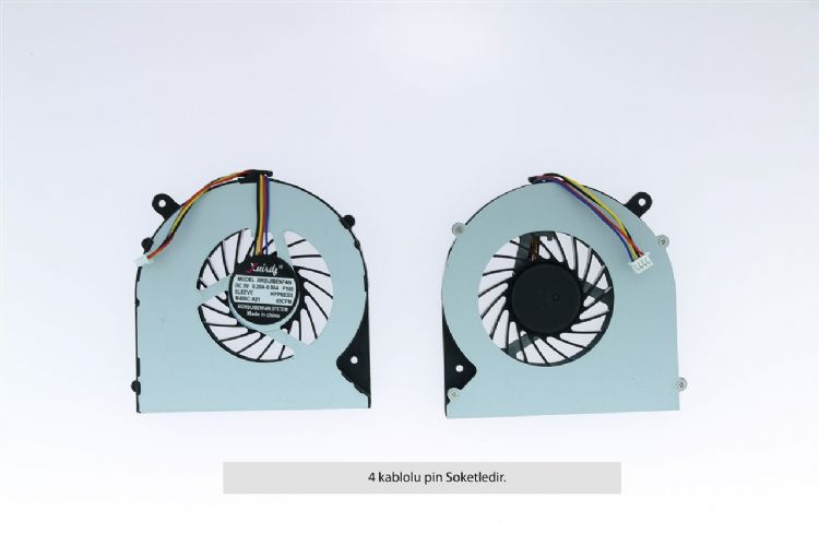 Toshiba Satellite C850, C850D, C855, C855D Fan 4 Pin MODEL-2