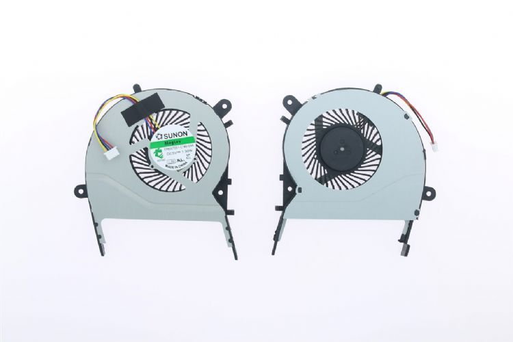 Asus X555, K555, A555, R556, R557, W519L, K455 Uyumlu Fan