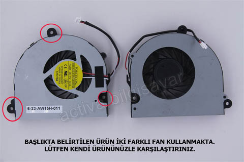 Exper Karizma NBLB2, BLB2 W258HQ W258HP Fan Model - 2
