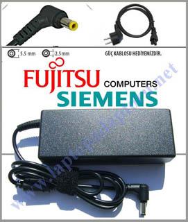 Fujitsu LifeBook A544 Notebook Adaptör Şarj Aleti 19v 4.74a Resim