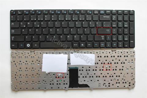 Samsung R580 Klavye Türkçe Siyah