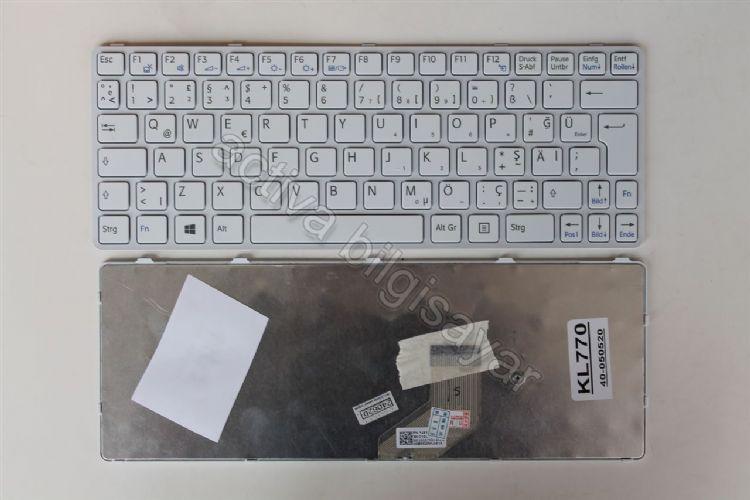 SONY VAIO SVE11 Klavye Laptop - Notebook Beyaz