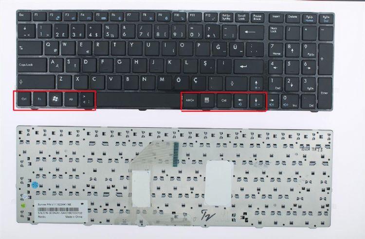 Monster MS-1757 Klavye MODEL-2