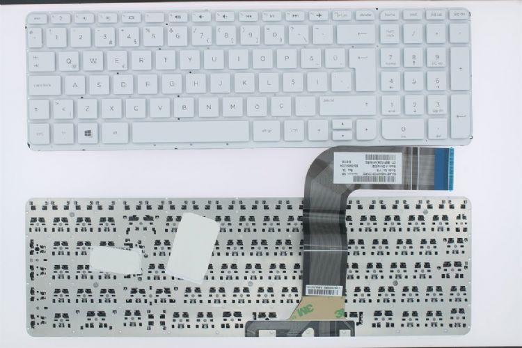 Hp Pavilion 15-p204nt klavye tuş takımı Beyaz