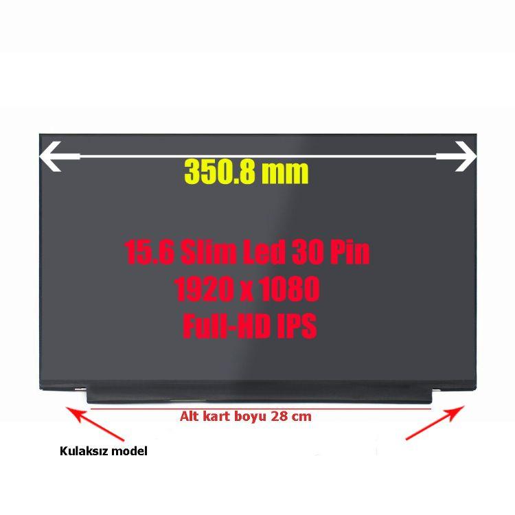 LCD046-15.6 LP156WFC-SPD1 Slim Led 30 Pin 1920 x 1080 Full-HD IPS Dar Kenar