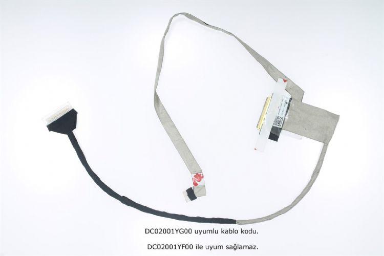 Toshiba Satellite C55-B Lcd ekran Data Kablo DC02001YG00