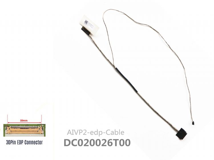 Lenovo IdeaPad 100-14iby 100-14 LCD KABLO DC020026T00 30 PİN
