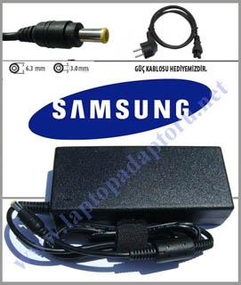 Samsung NP350U2B-A0ATR, NP350U2B-A07TR,  NP350U2B-A06TR Uyumlu Adaptör Şarj