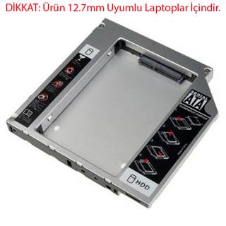 SSD KIZAK DVD TO HDD SSD EXTRA YUVA KUTU SATA Resim 2