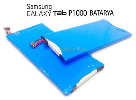 Samsung P1000 Tablet Batarya, Pil