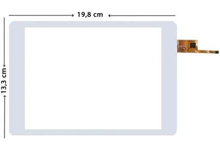 Reeder A8im Dokunmatik Ekran