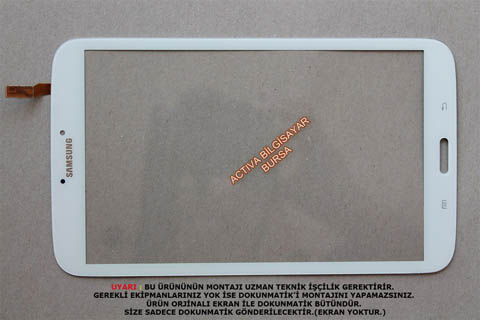 Samsung SM-T310 Dokunmatik (8inç – Beyaz )