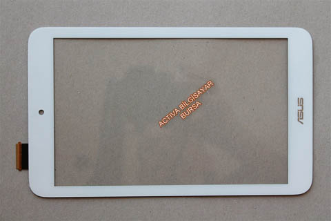 Asus Memo Pad Me180  Beyaz Dış Cam