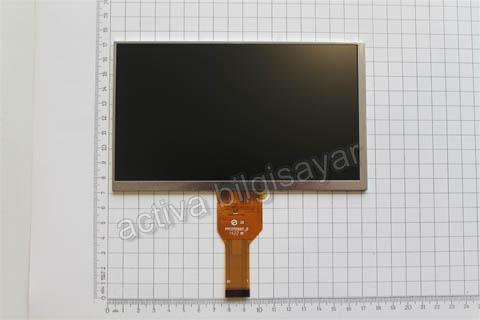 Casper Via T27 Tablet Lcd Ekrani 30 pin Soket