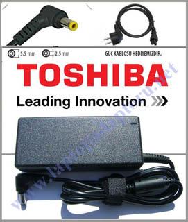 Toshiba 19V 2.37A 45W Uyumlu Adaptör, Şarj Cihazı
