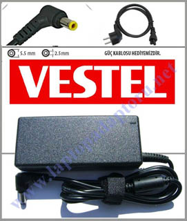 VESTEL NB ONYX BASE  19V 3.42A 65W ADAPTÖR