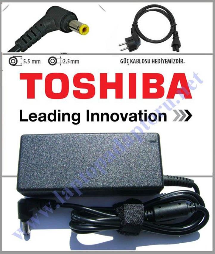 Toshiba Satellite T135D-S1328WH PST3LU Adaptör, Şarj Aleti